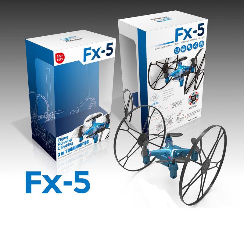 רחפן פעלולים FX5