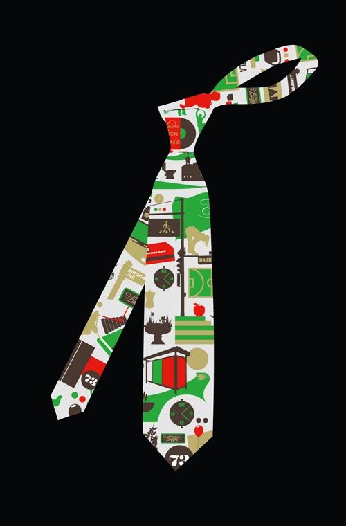 עיצוב מתנות | עניבה בעיצוב יחודי
