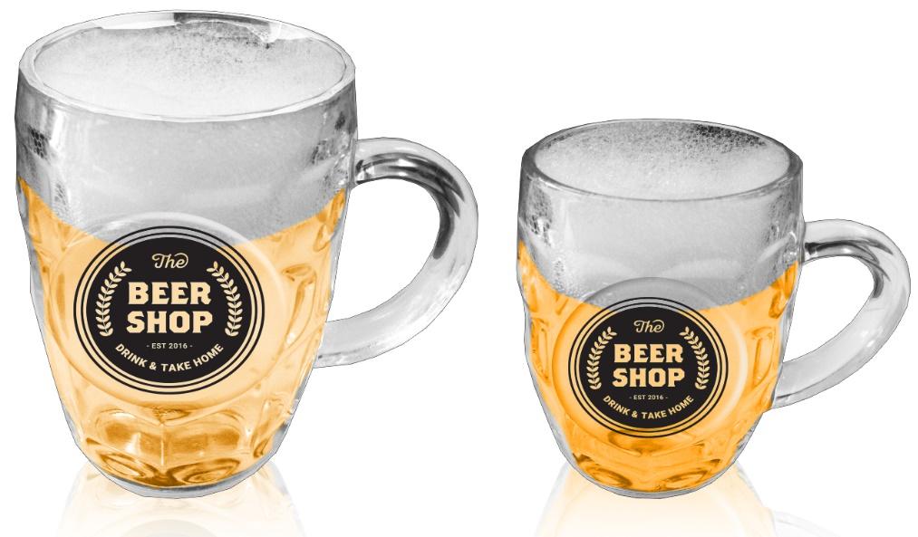 כוסות בירה ממותגות | כוס לבירה
