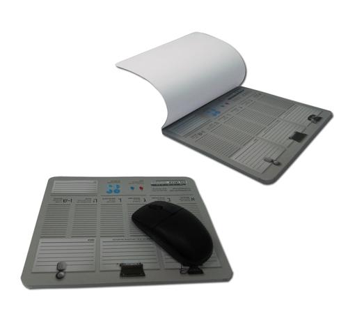 משטח לעכבר דפי ממו | משטח לעכבר עם תאריכון