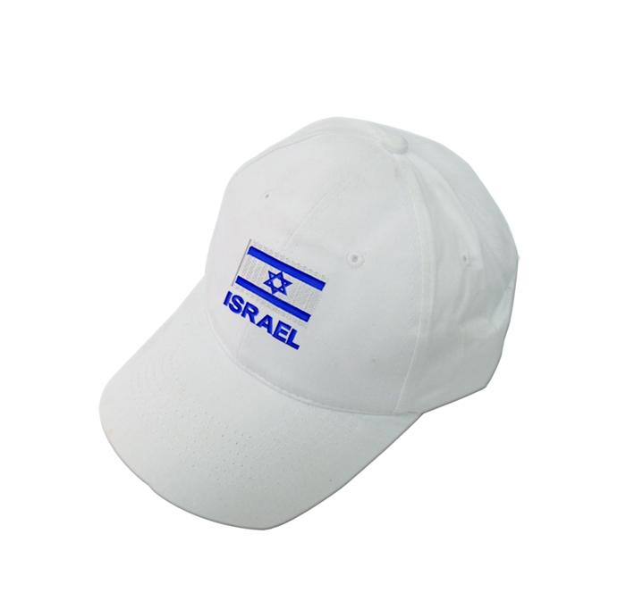 כובעים רקומים | כובע עם דגל ישראל
