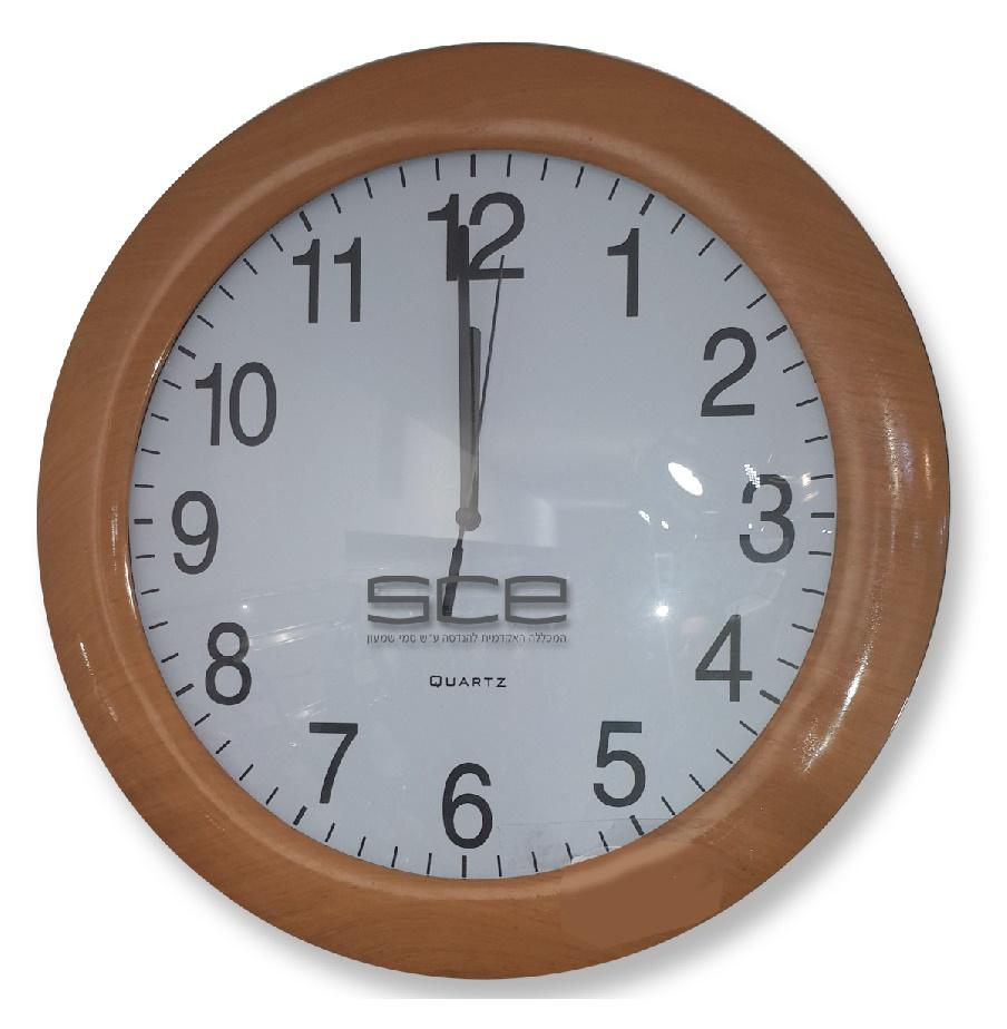 שעון קיר ממותג | שעון עם הדפס