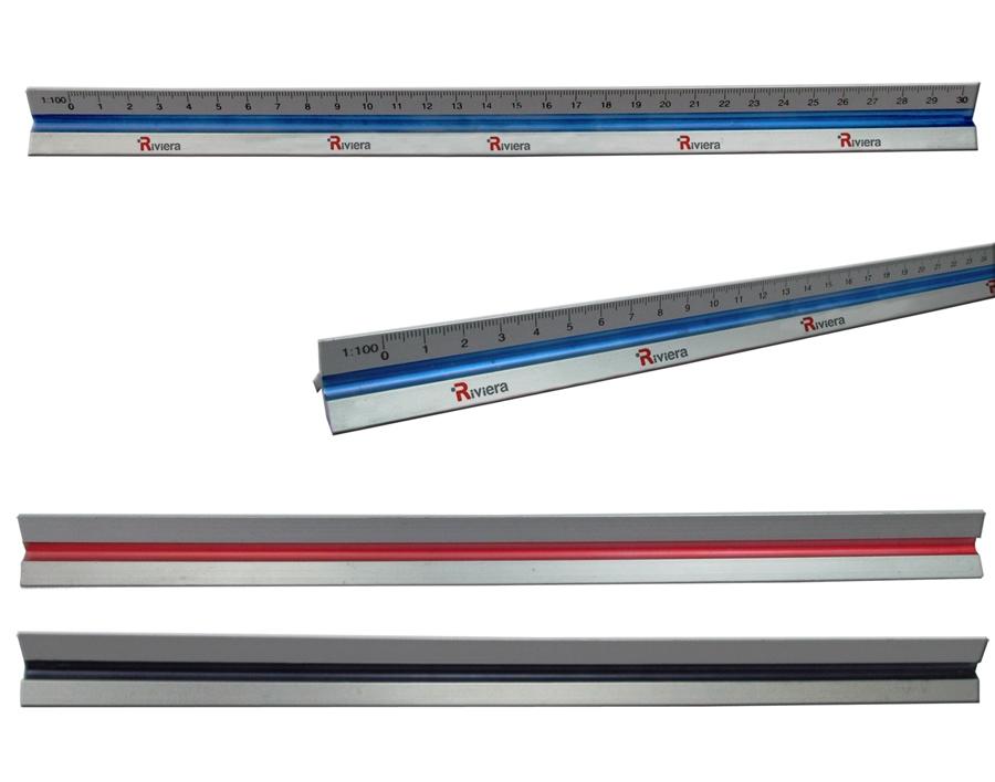סרגל קנה מידה | סרגל מדידה | סרגל אדריכלים