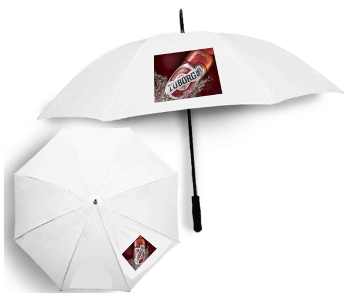 מטריה גדולה עם הדפס צבעוני