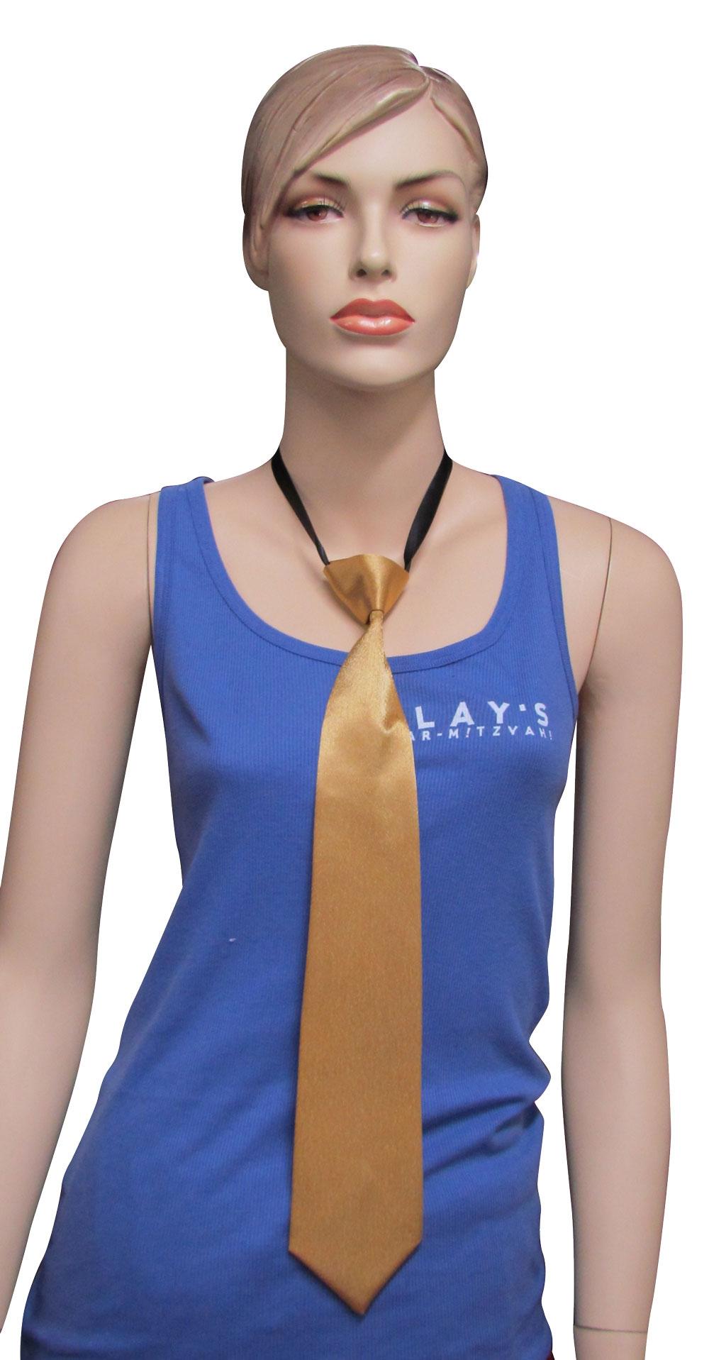 עניבה מוזהבת | עניבות בצבע זהב