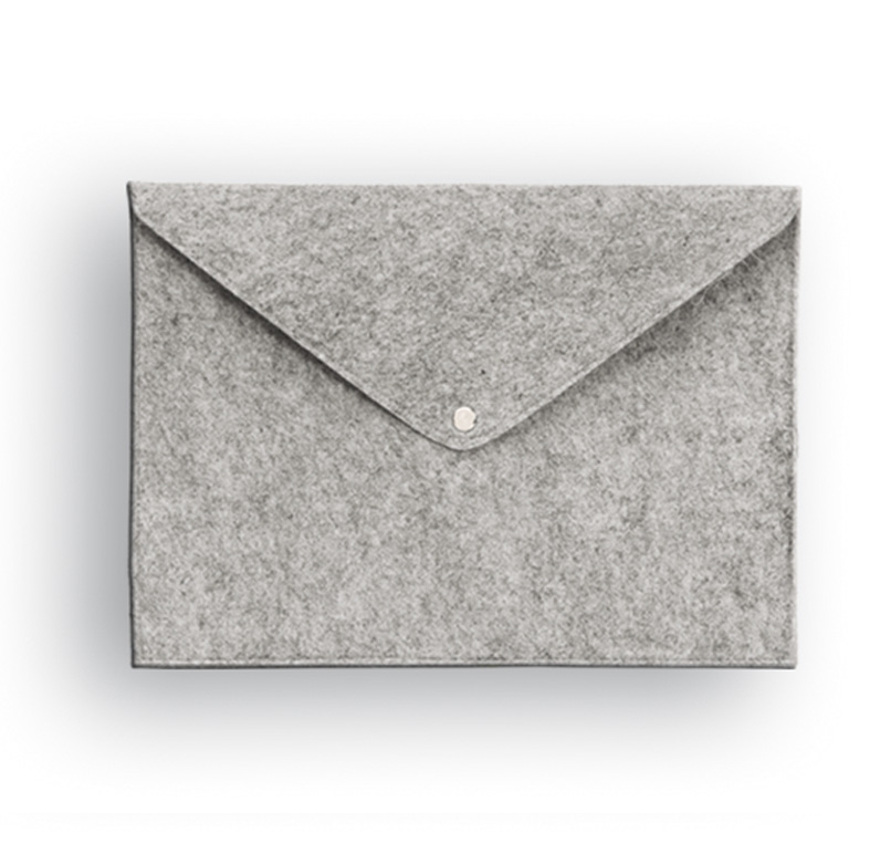 תיק מעטפה מבד קנבס ממוחזר