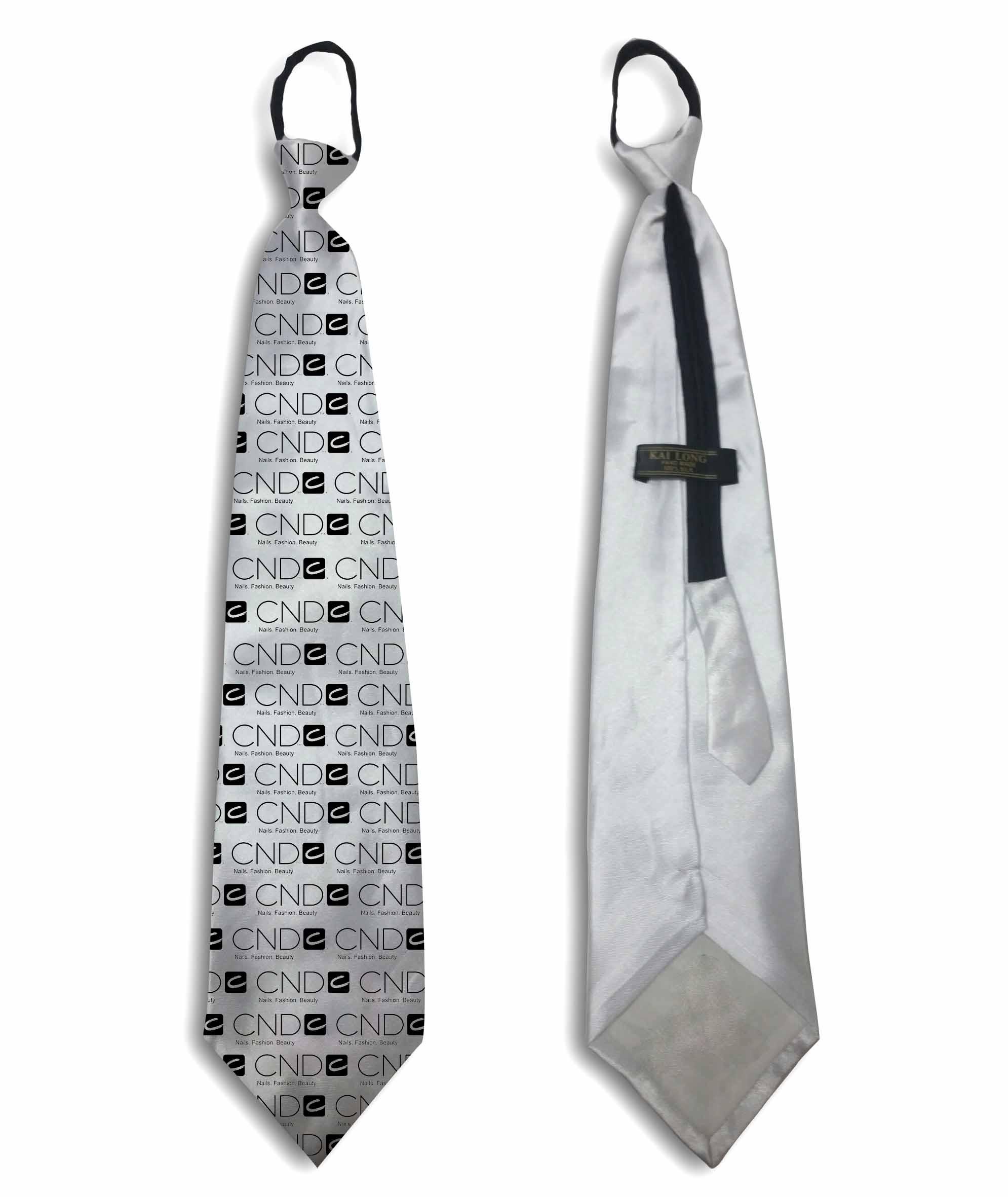 עניבה ממותגת | עניבה עם רוכסן