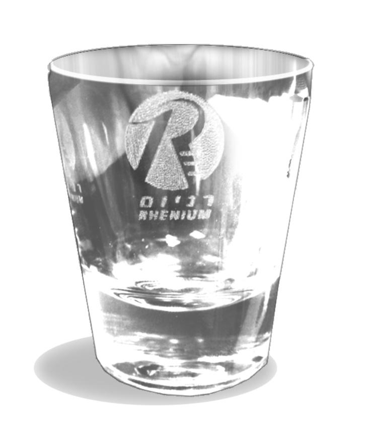 כוסות צ ייסר עם צריבה