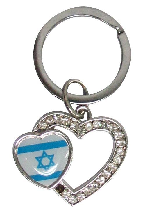 מחזיק מפתחות דגל ישראל ליום העצמאות