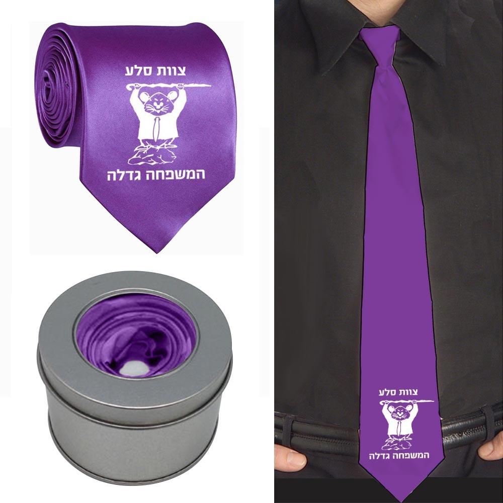 עניבה עם קופסת מתנה