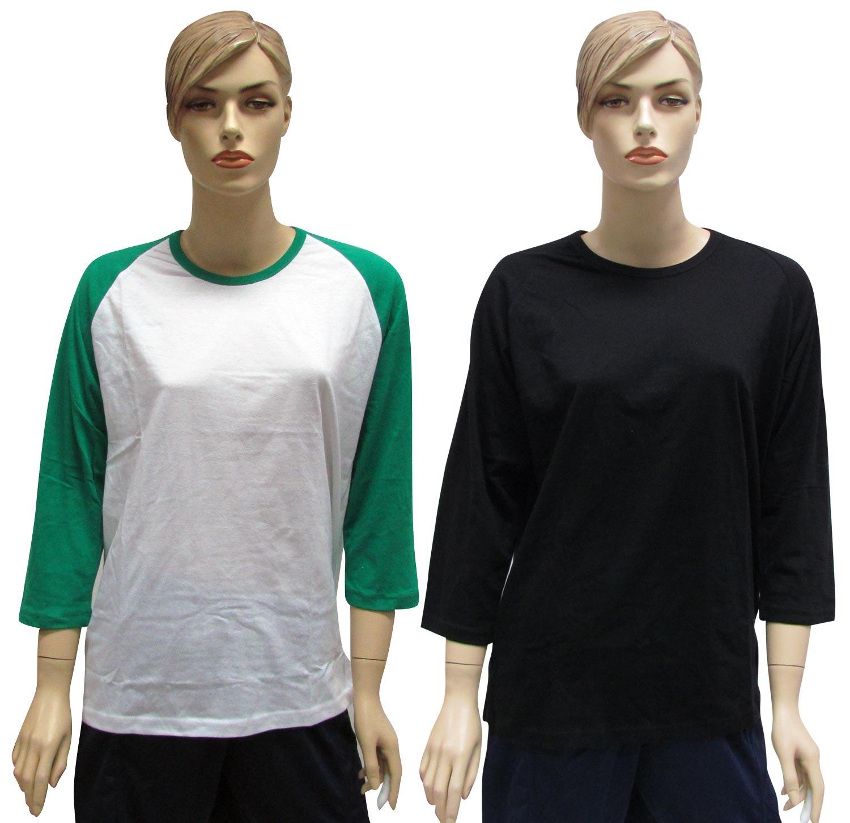 חולצות אמריקאיות | חולצות שלושת רבעי