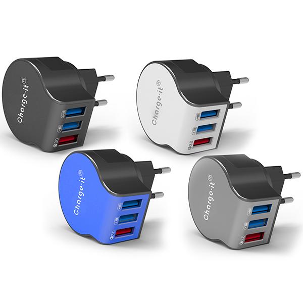 מטען USB לקיר