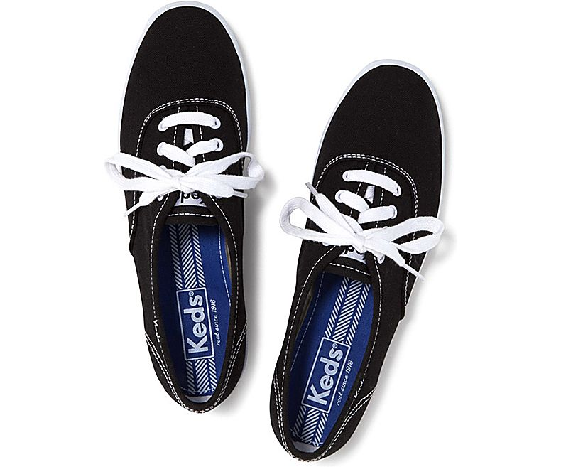 נעלי קדס סניקרס נשים Keds champion black