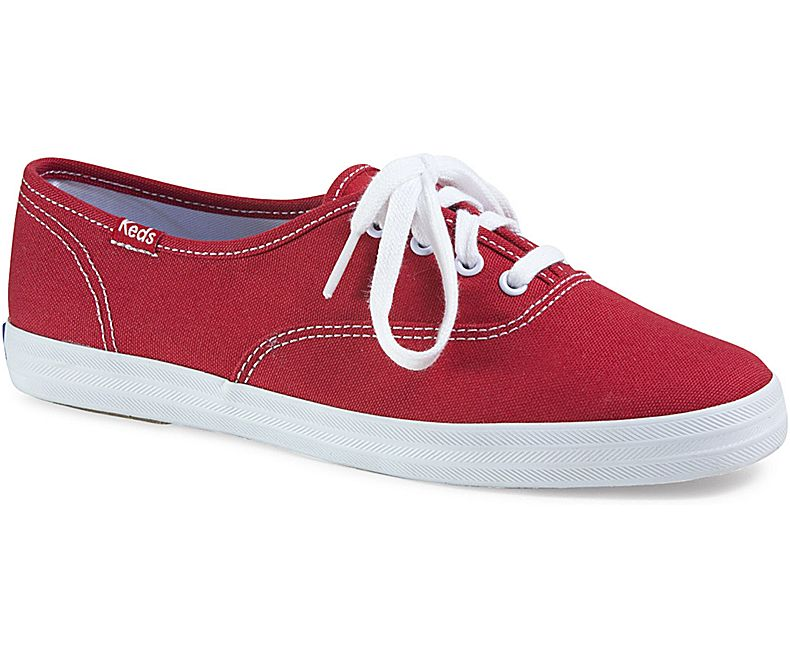 נעלי קדס סניקרס נשים KEDS CHAMPION RED