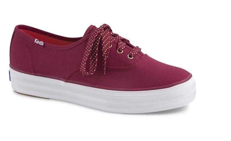 נעלי פלטפורמה קדס נשים KEDS TRIPLE