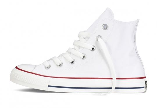 נעלי אולסטאר לבן גבוה נשים גברים Converse optical white