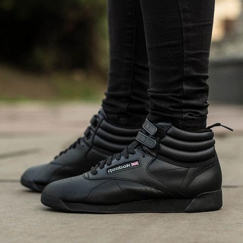 נעלי ריבוק גבוהות נשים Reebok FreeStyle Hi