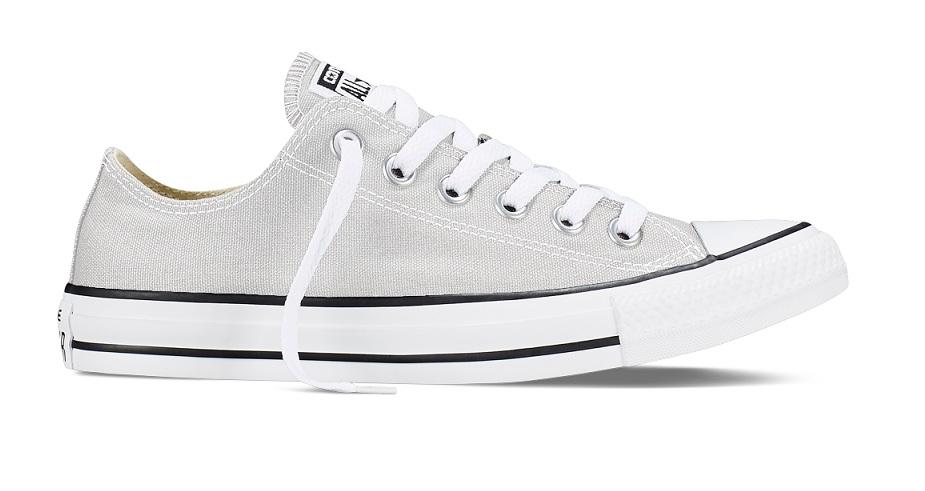 נעלי אולסטאר אפור בהיר עכבר נשים גברים Converse Mouse