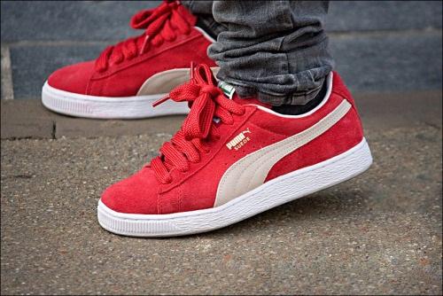 נעלי פומה אופנה נשים גברים Puma Suede Classic