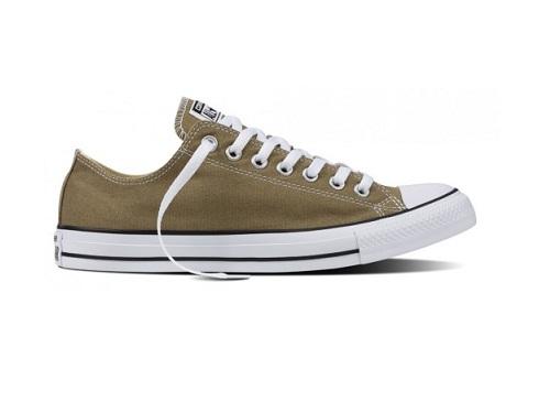 נעלי אולסטאר ירוק חאקי חצי נשים גברים Converse Jute