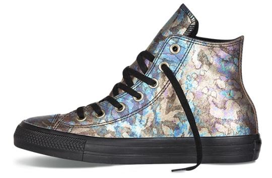 נעלי אולסטאר עור נשים Converse Oil Slick