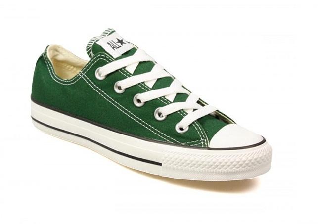 נעלי אולסטאר ירוק גברים Converse Greener Past
