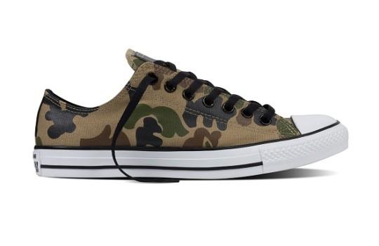 נעלי אולסטאר צבאיות גברים Converse Camouflage