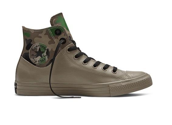 נעלי אולסטאר צבאי גומי Converse Camo Rubber