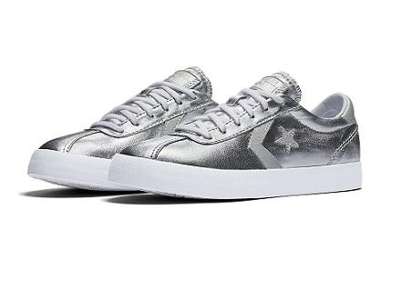 נעלי אולסטאר כסף נשים Converse Breakpoint Silver