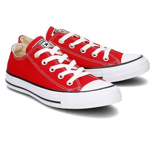 נעלי אולסטאר אדום חצאיות נשים גברים Converse red