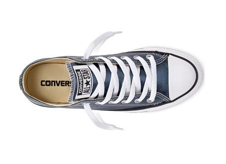 נעלי אולסטאר כחול מטאלי Converse Blue Fire