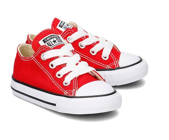 נעלי אולסטאר תינוקות Converse Infant Red