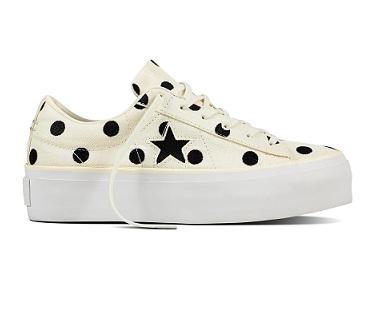נעלי אולסטאר פלטפורמה נשים Converse One Star Platform