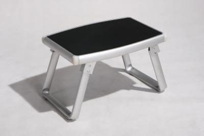 שולחן נמוך מאלומיניום צבע שחור