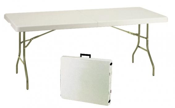 שולחן מזוודה באורך 1.8 מ'