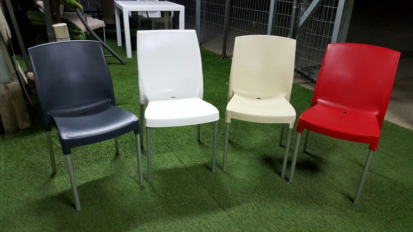 כיסא פלסטיק דגם JENNY מגוון צבעים