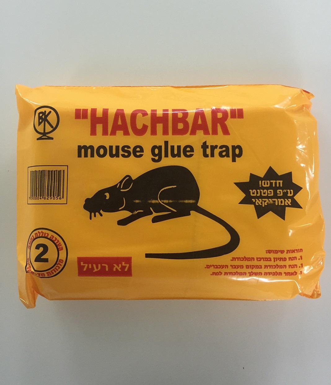 מלכודת דבק לעכברים