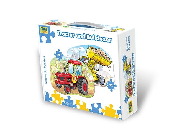 Tractor and Bulldozer