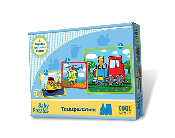 Baby Puzzles – Transportation