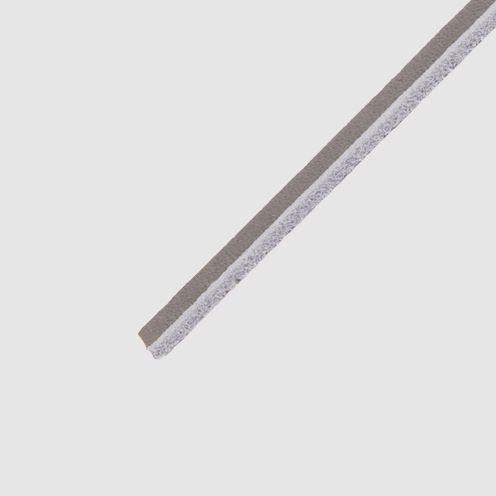 Cowies Grey- זוג שרוכים מעור בצבע אפור