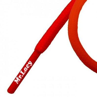 Roundies Red - שרוכים עגולים בצבע אדום