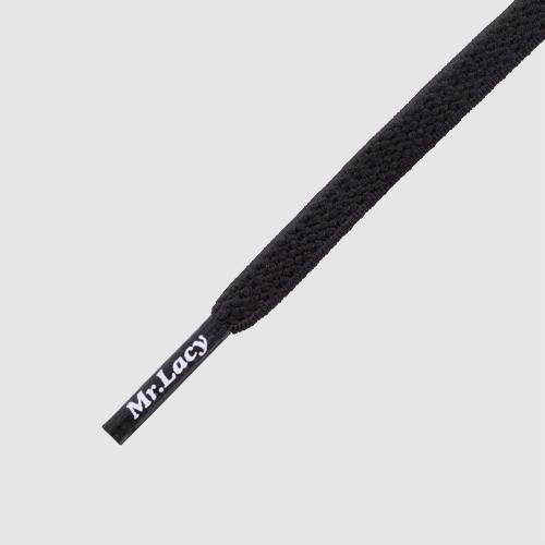 110 Flexies Black- זוג שרוכים אלסטיים בצבע שחור