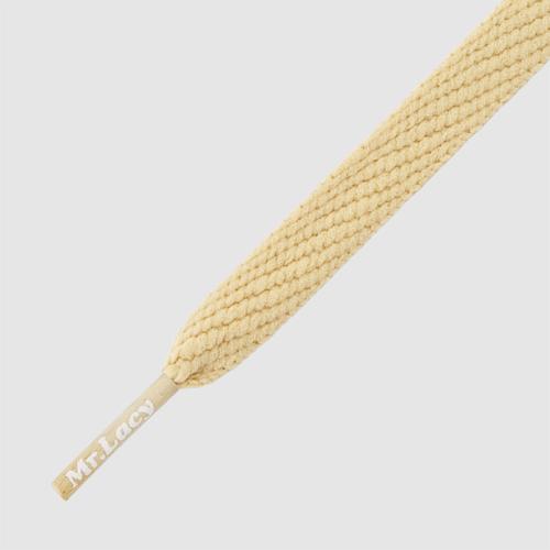 Flatties Sand- זוג שרוכים שטוחים צבע חול