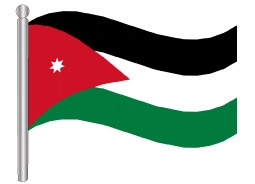 תוצאת תמונה עבור דגל ירדן
