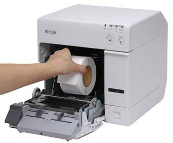 מדפסת מדבקות אפסון  Epson TM-C3500