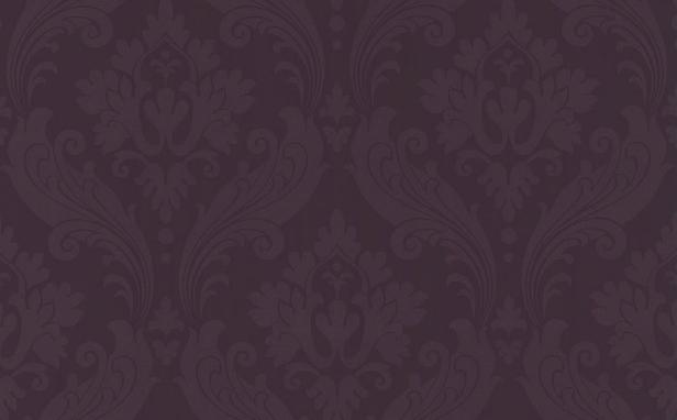 Vintage Flock Purple