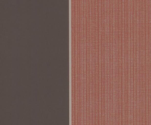 Bold Stripe: Burnt Orange/Charcoal