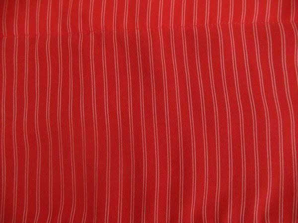 בד פסים אדום לבן