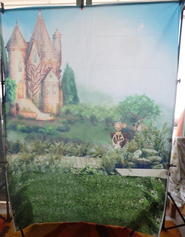 רקע מודפס-ארמון