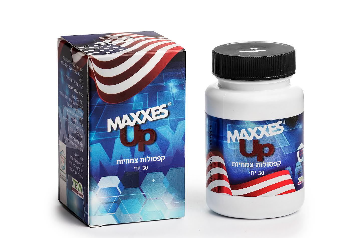 קפסולות MAXXES UP לחיזוק האון ושיפור הזיקפה